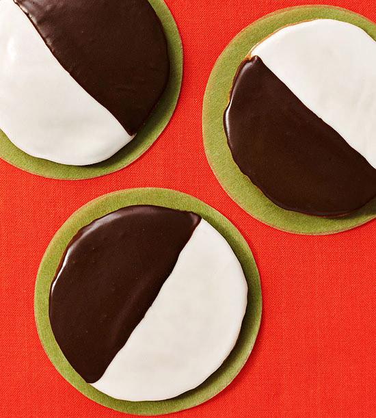 Retro Black & White Cookies