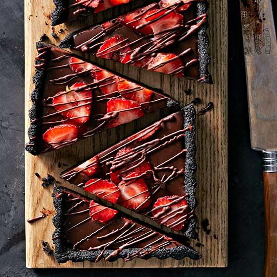 No-Bake Chocolate Ganache Tart