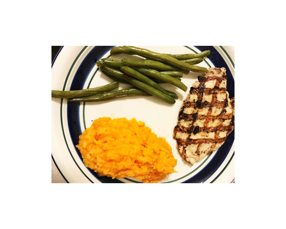 Stacey Monahan healthy meal