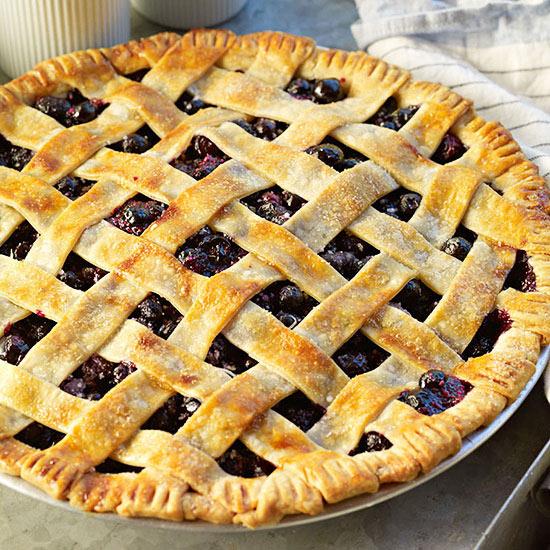 Blueberry-Thyme Pie