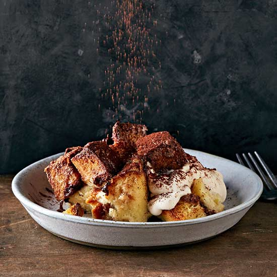 Challah Chocolate Bread Pudding
