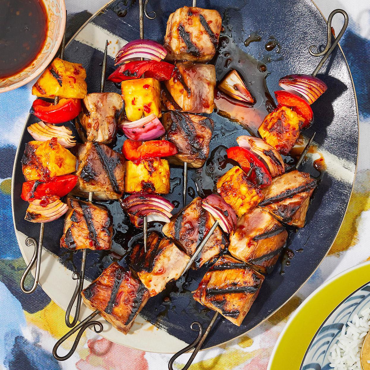 Tuna Kebabs