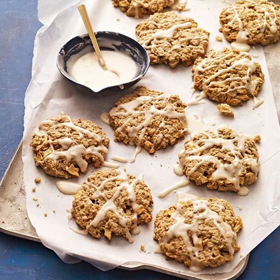 Jumbo Apple-Oatmeal Cookies