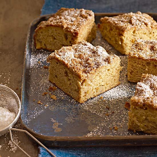 Apple-Cardamom Coffee Cake
