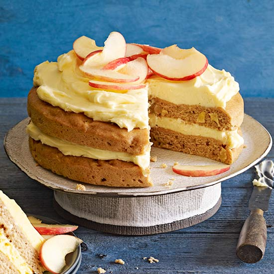 Apple-Ginger Cake