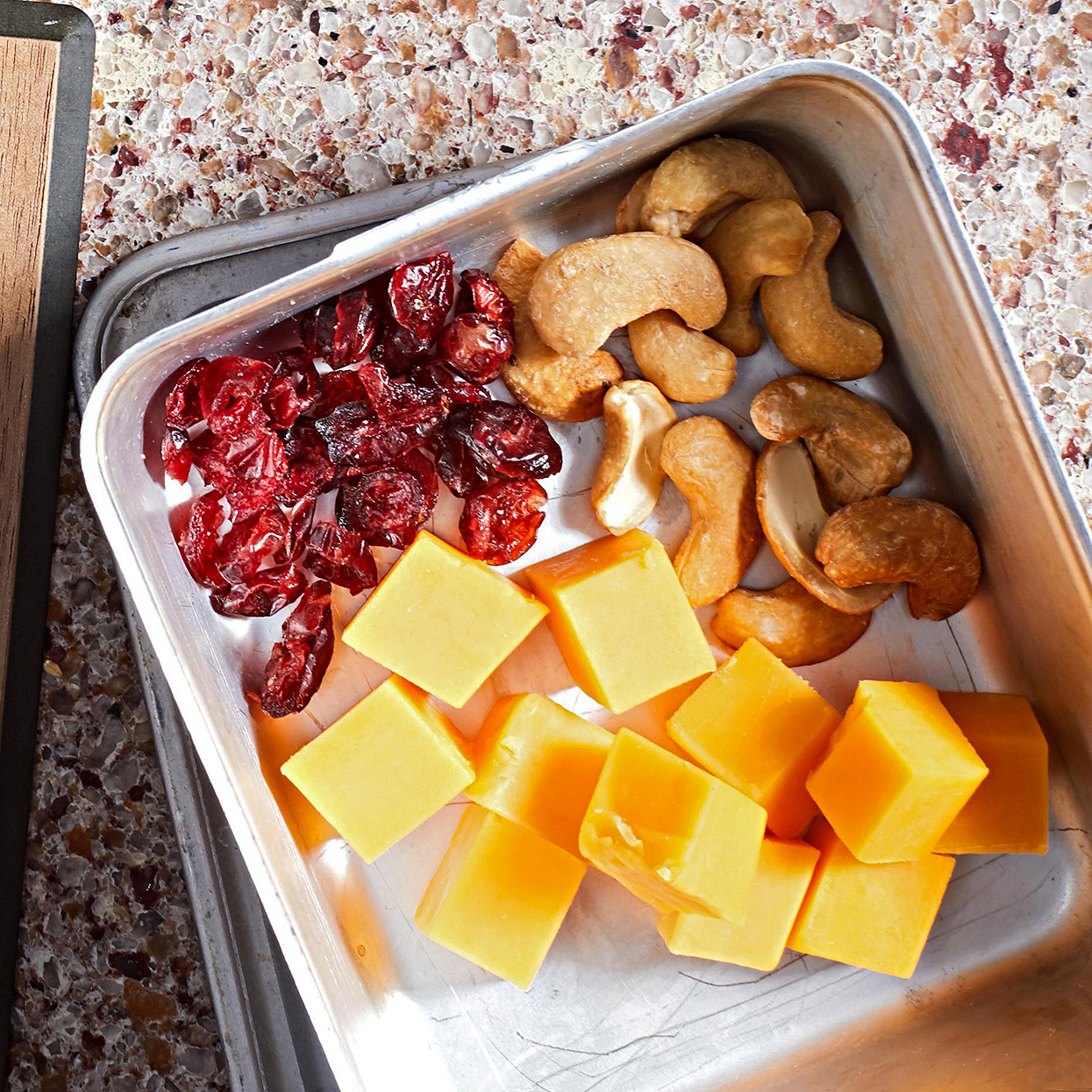 Cheese, Fruit, and Nut Packs