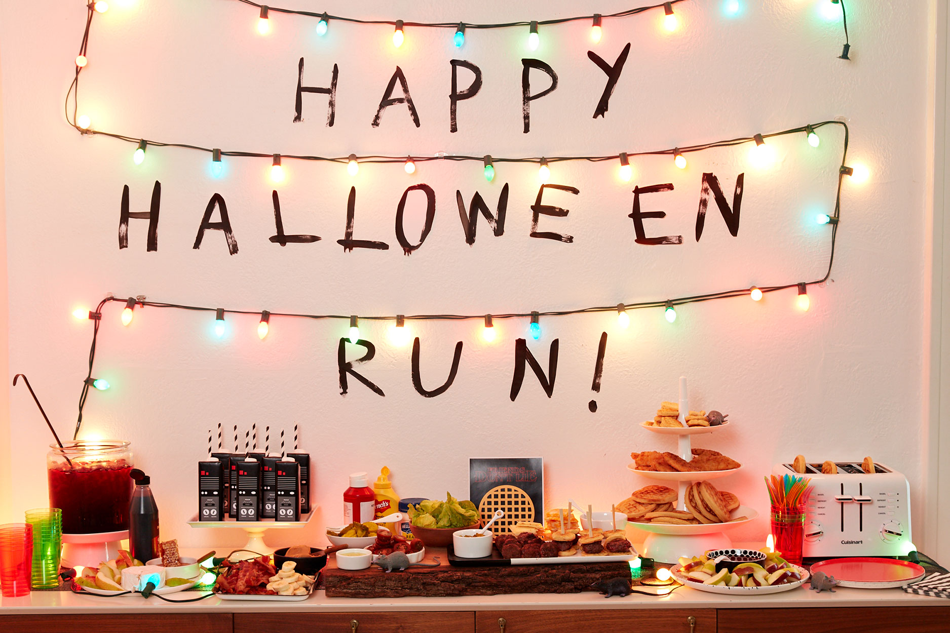 Stranger Things Halloween party