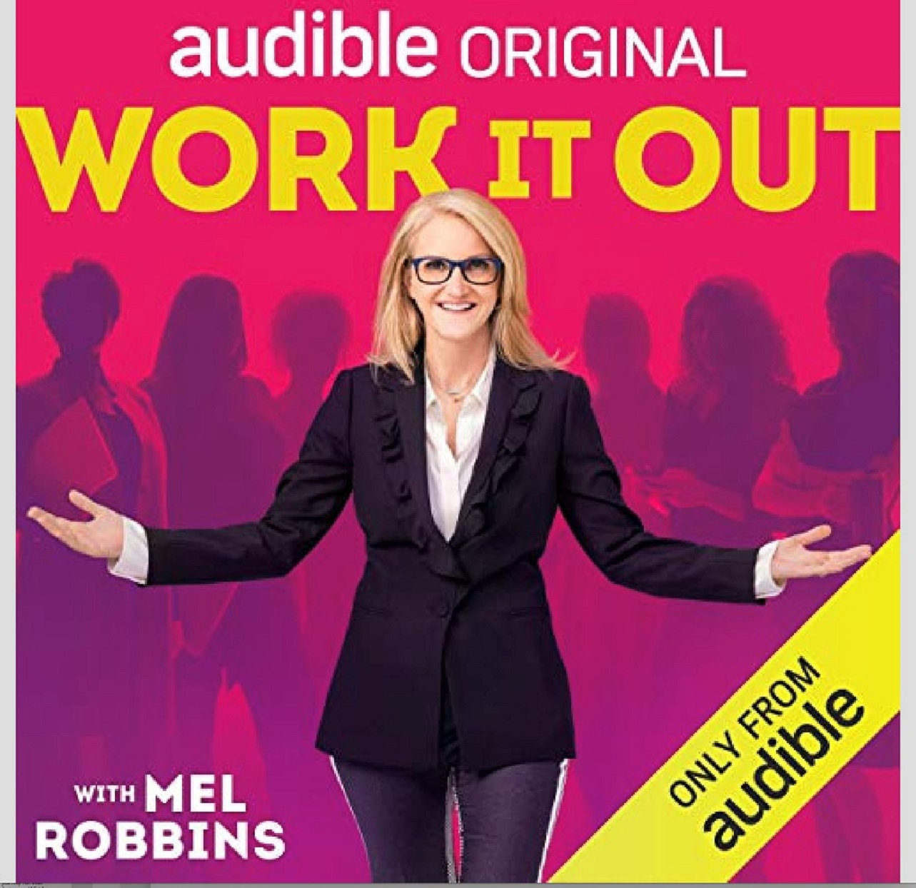 2019 holiday gift guide Audible Subscription Original WORK IT OUT