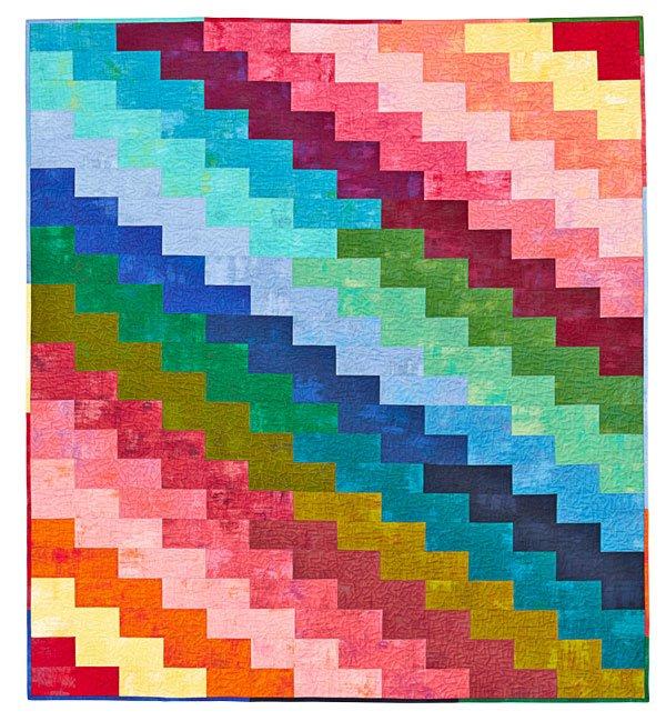 Rainbow Zigzags