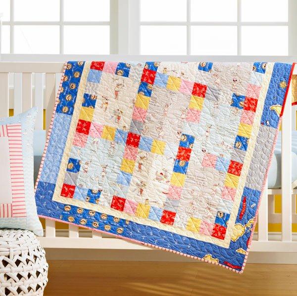Seaworthy Baby Quilt
