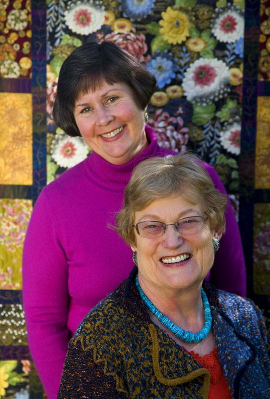 Stitching Side by Side: Diana McClun & Laura Nownes