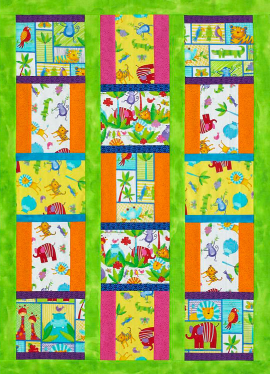Two-Block Kid's Quilt