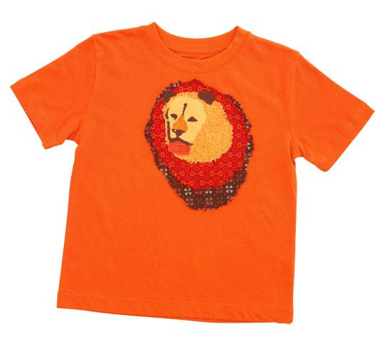 Lion Applique T-Shirt