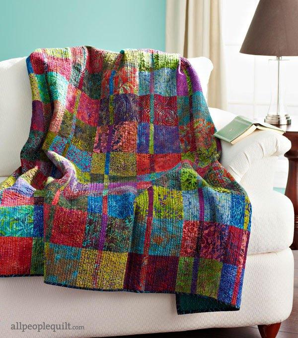 Free Batik Quilt Patterns