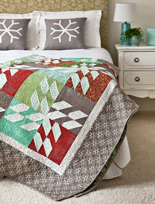 Color Options from American Patchwork & Quilting® December 2012