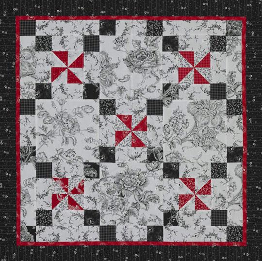 Three-Color Pinwheels