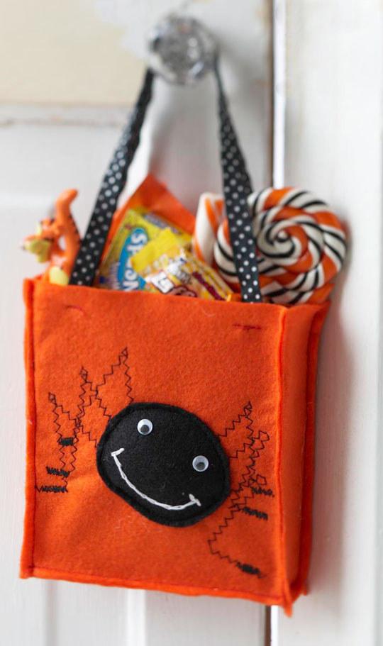 Spooky Spider Treat Bag