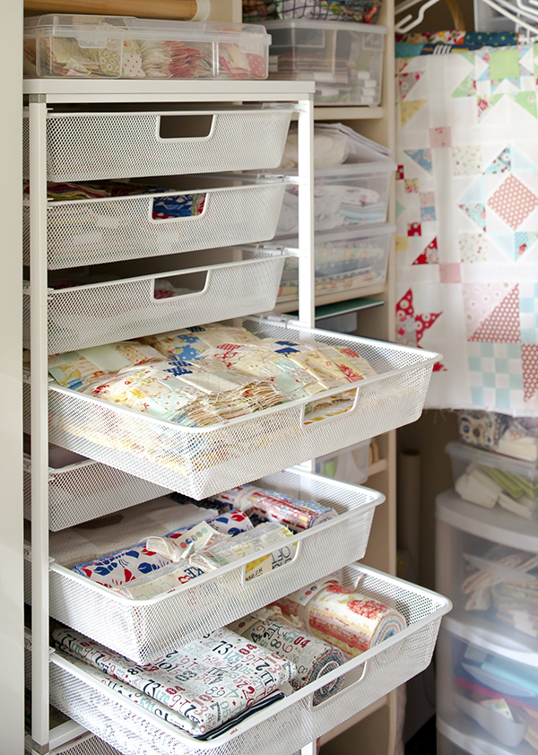 Smart Ways to Store Fabric