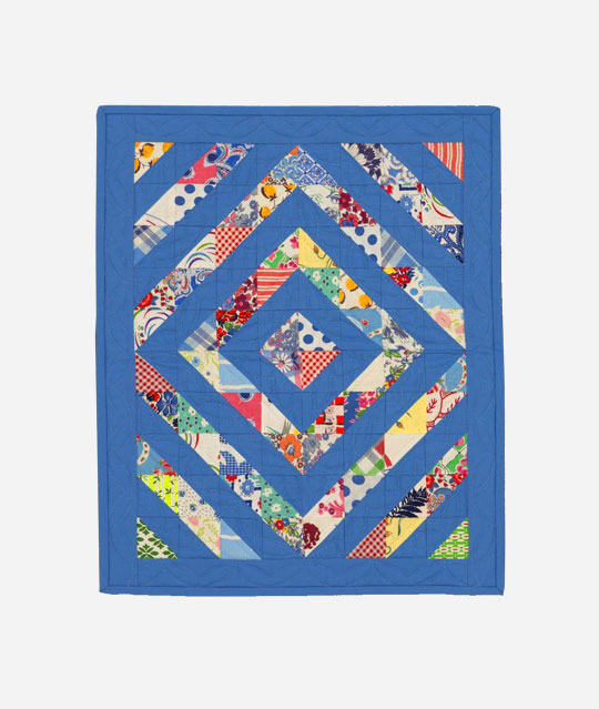 Scrappy Doll Quilt