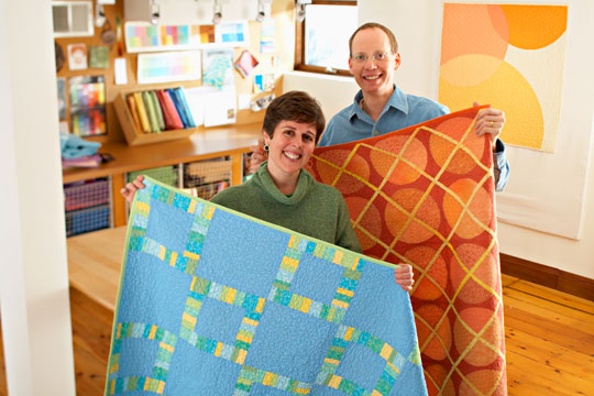 Behind the Scenes with Modern Quilt Studio