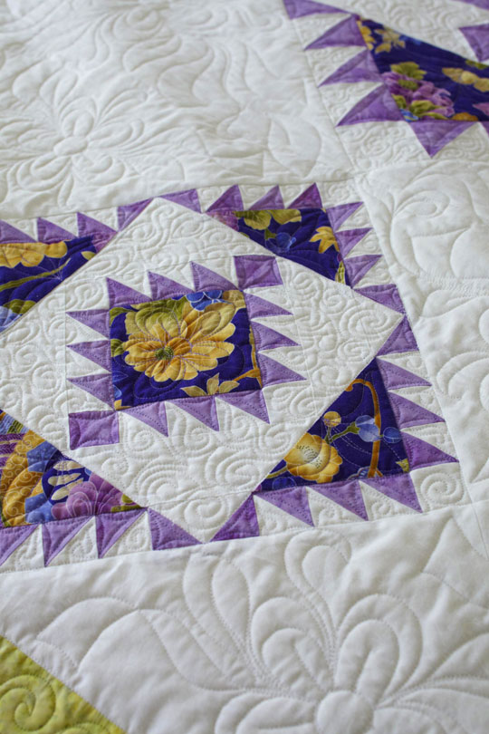 Add Interest with Stitching