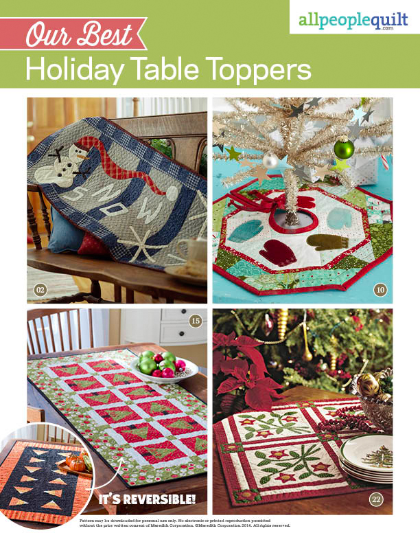 Our Best Holiday Table Toppers