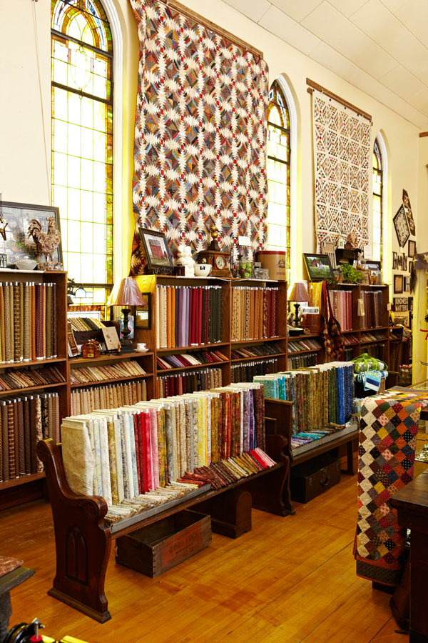 Rows of Fabric