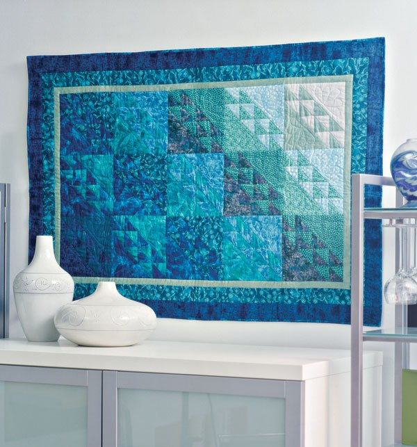Quilting Color Trend: Teal