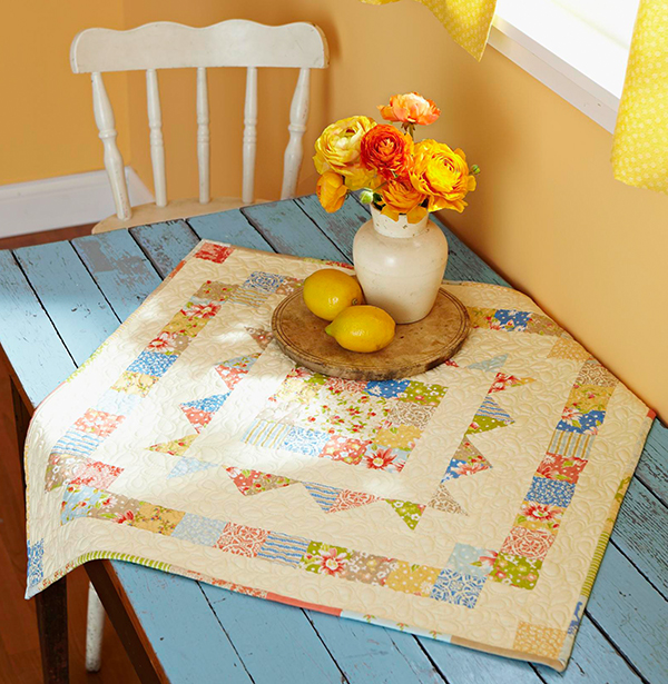 Sunny Table Topper