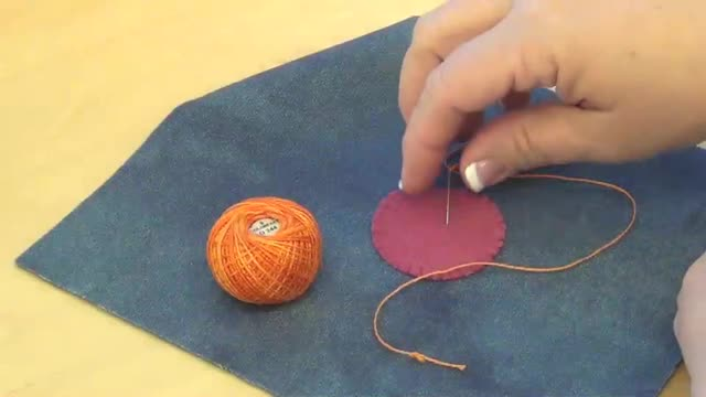 How To: Threaded Running Stitch