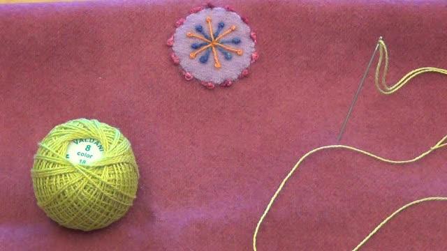 How To: Pistil Stitch