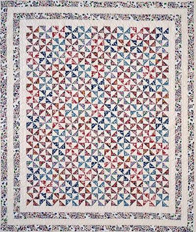 Pieced Pinwheels