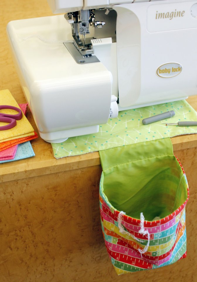 Serger Thread Catcher