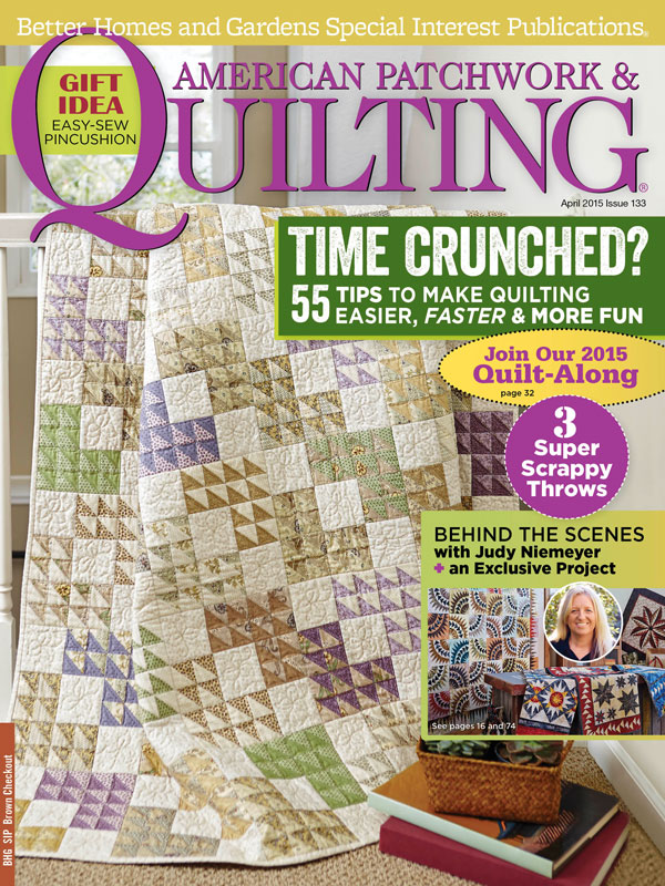 American Patchwork & Quilting April 2015