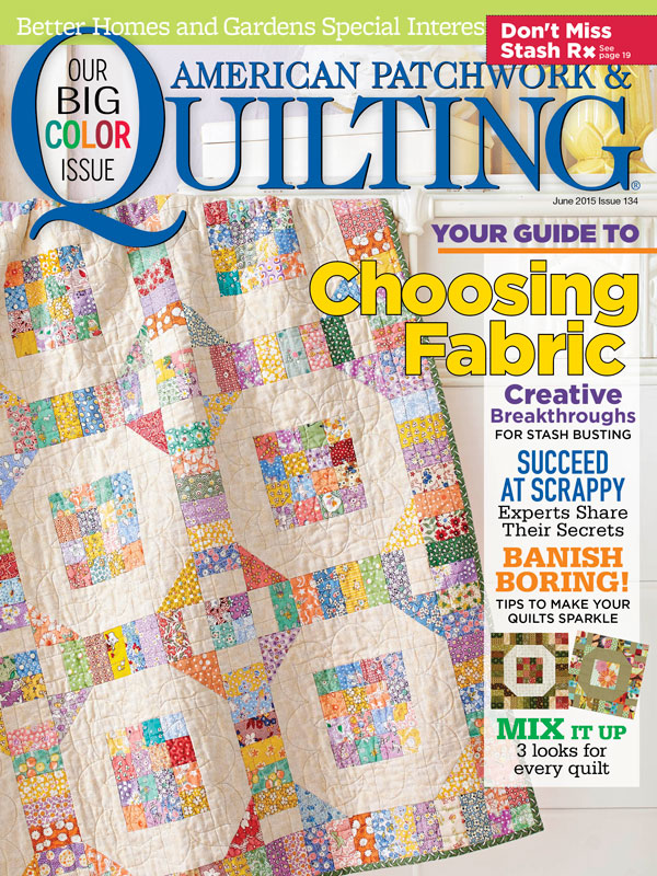 American Patchwork & Quilting June 2015