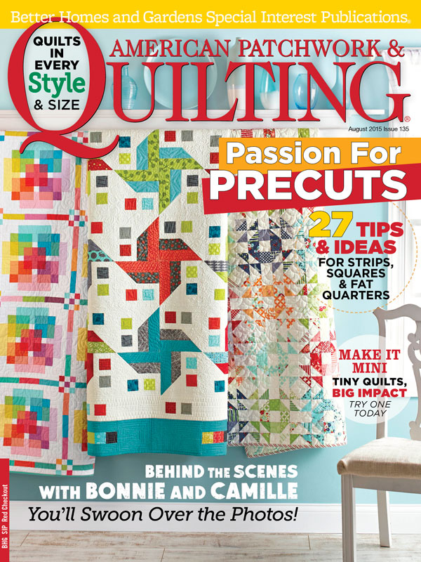 American Patchwork & Quilting August 2015