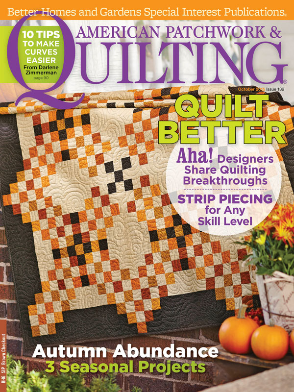 American Patchwork & Quilting October 2015
