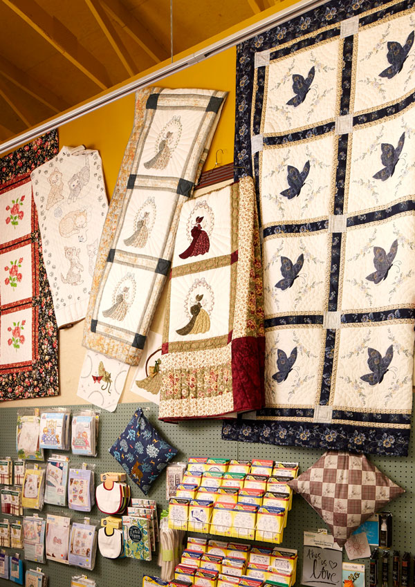 Quilts & Quilts The Fabric Shoppe