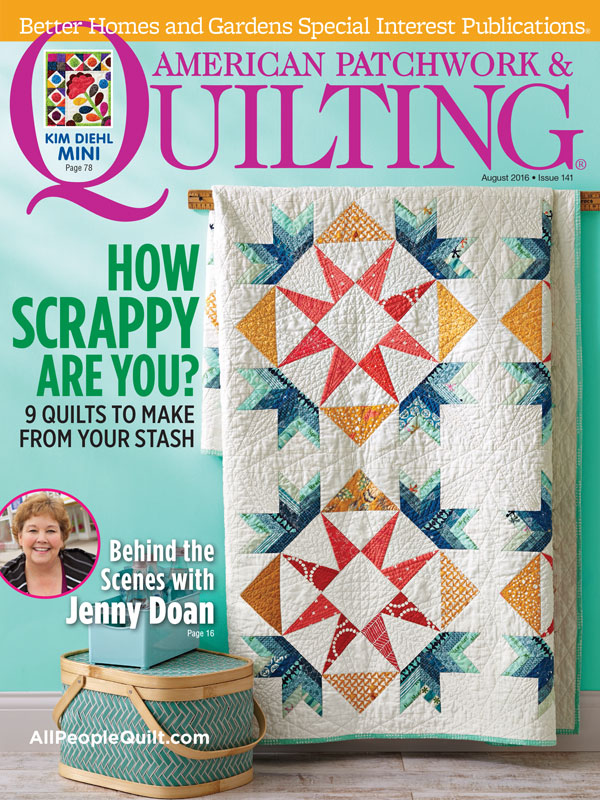 American Patchwork & Quilting August 2016