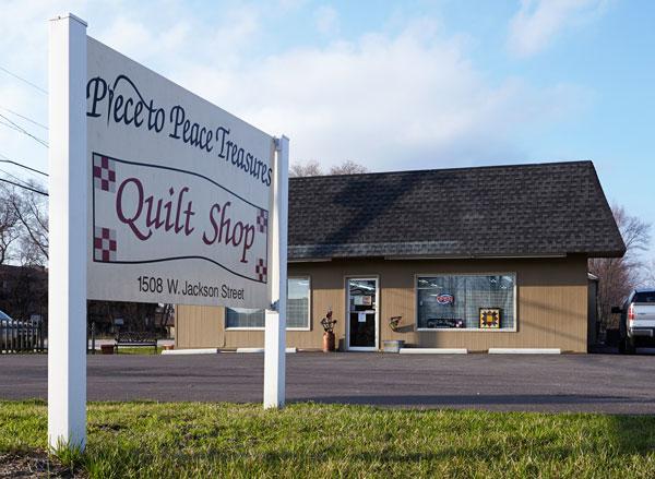 Piece to Peace Treasures Quilt Shop