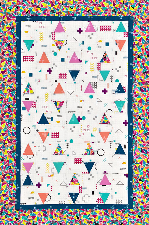 Confetti Baby Quilt Color Option