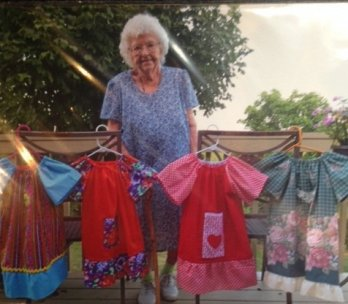 #8: Ms. Lillian Donates 1000 Dresses Before Her 100th Birthday