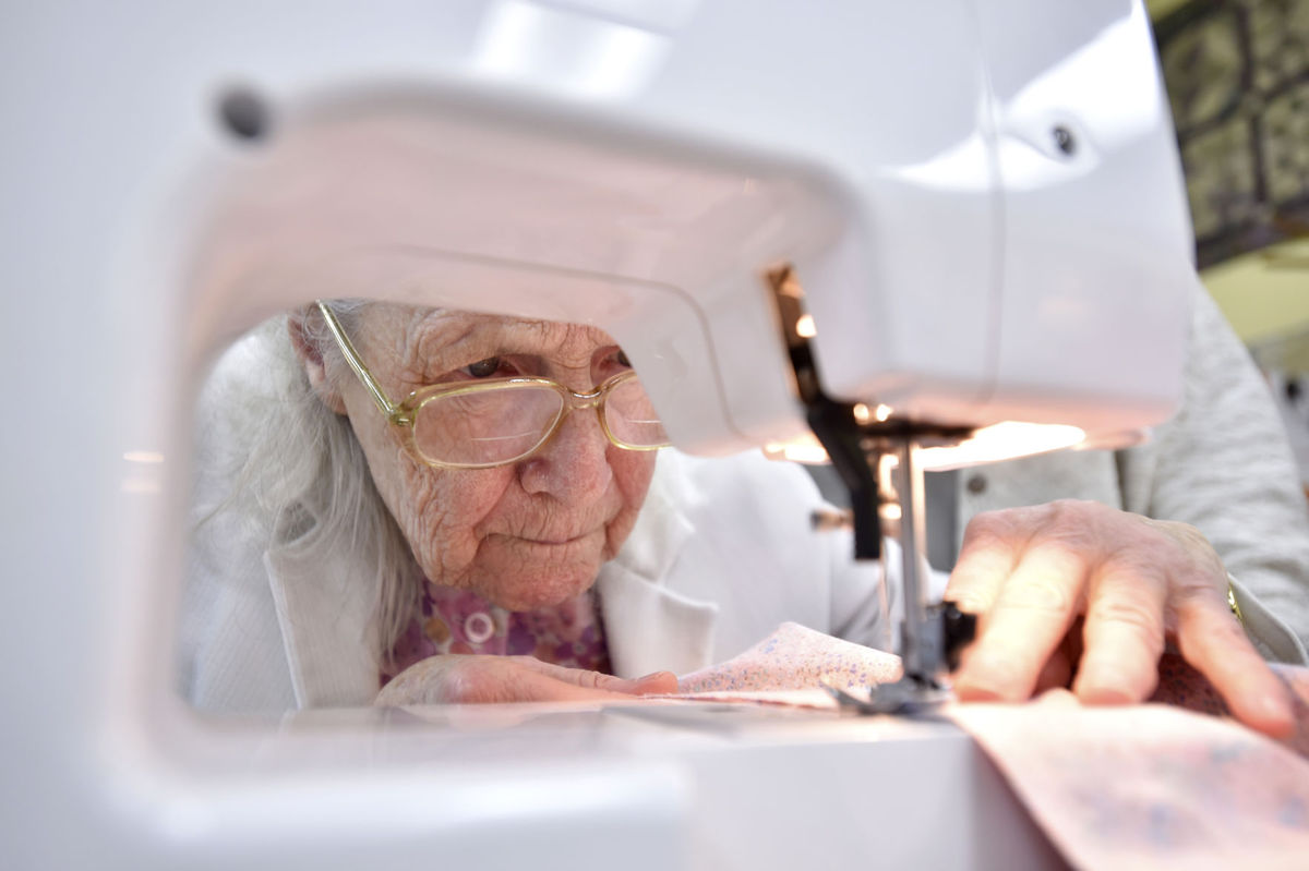 #10: Dementia Patient Sews for First Time in Two Years