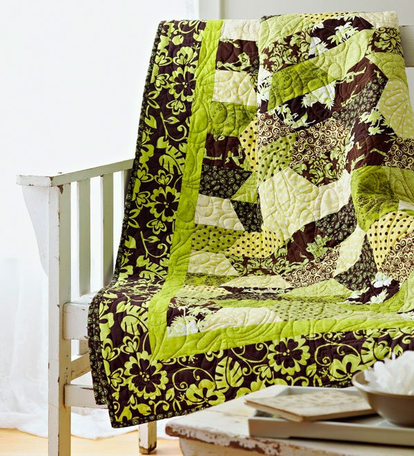 Quilting Color Trend: Green