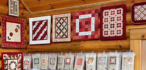 The Log Cabin Quilt Shop