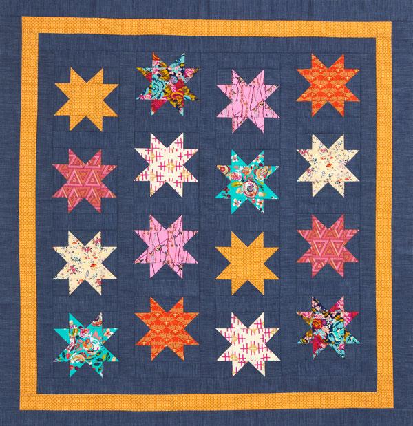 Gingham Stars Color Option