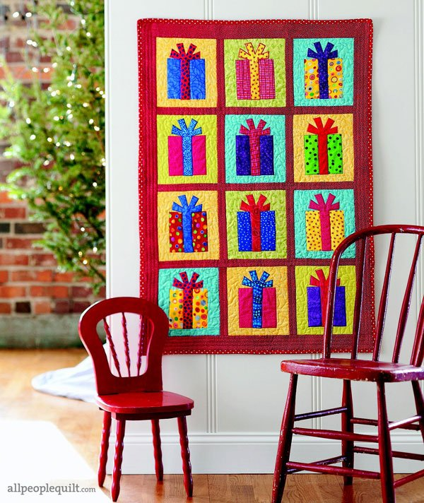 Holiday Applique Quilts