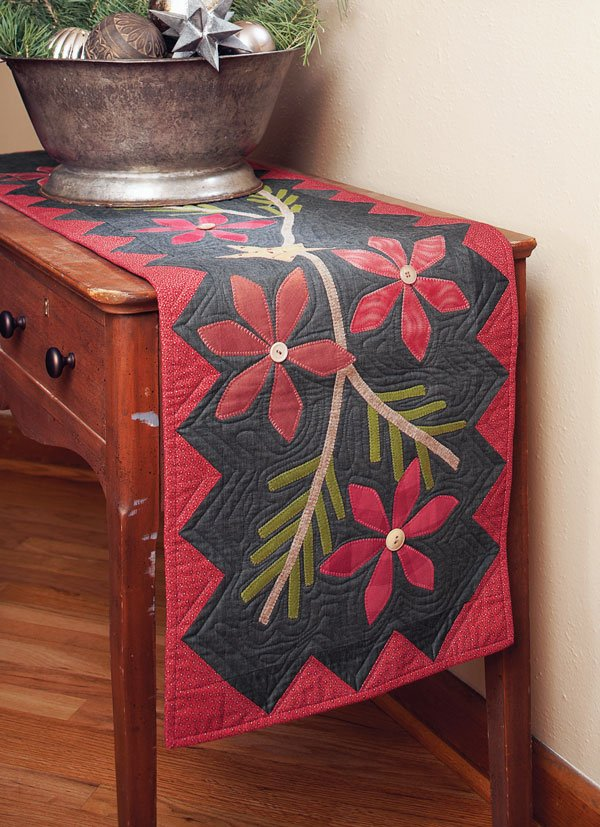 Poinsettia and Pine