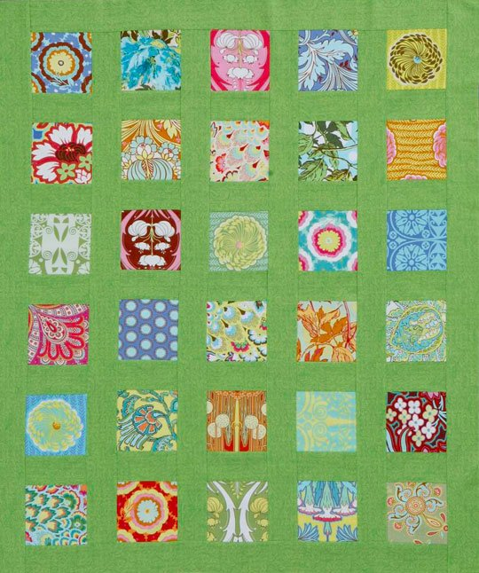 Squares and Sashing Quilt