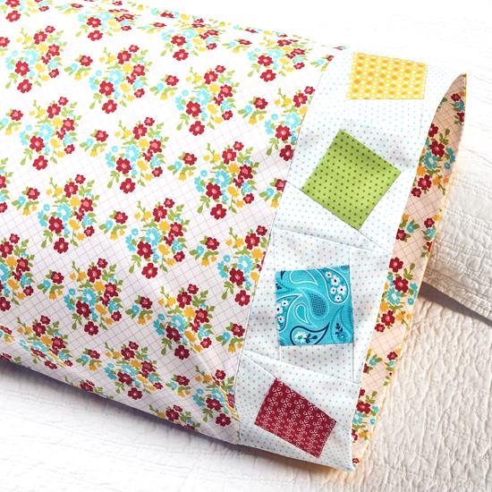 Moda- Pillowcase 71: Wonky Square